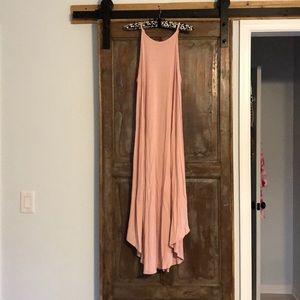 Soprano Maxi Dress Dusty Rose - Size medium